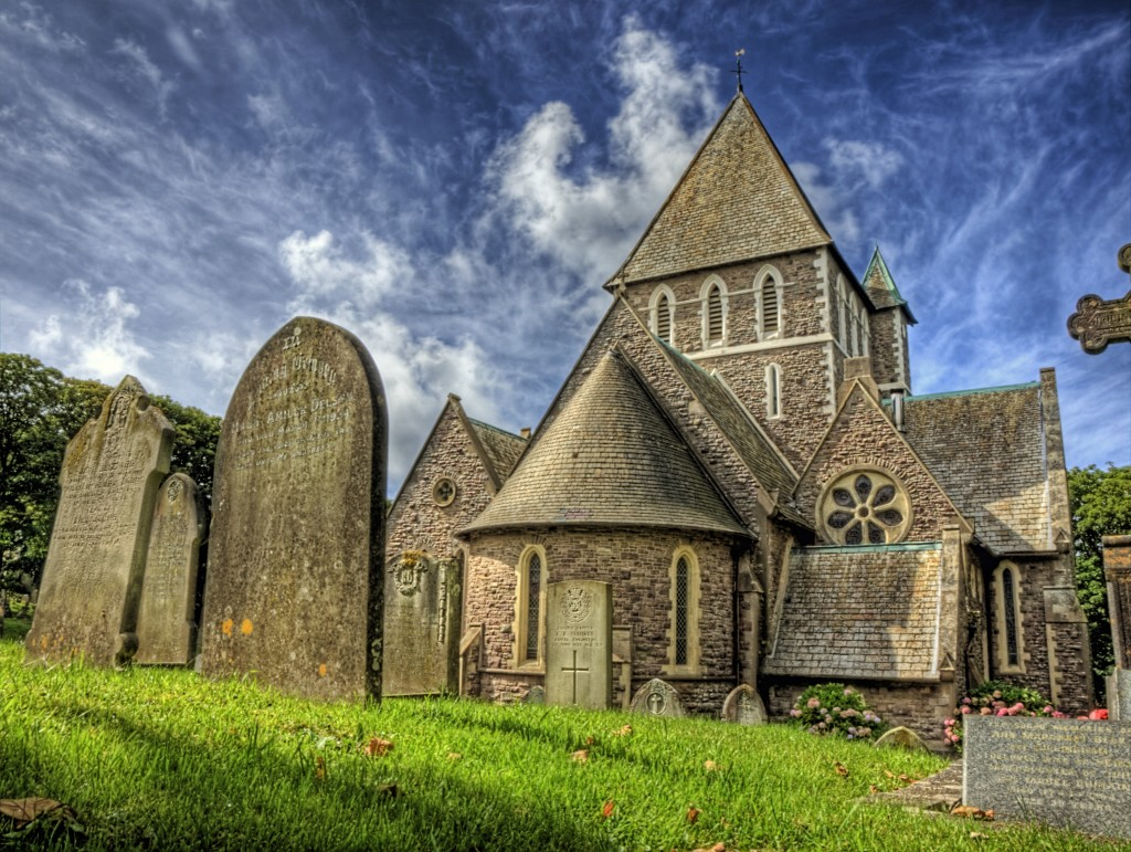 St Anne church Alderney