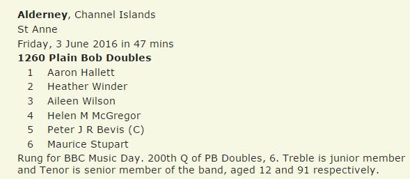 Bob Doubles June16